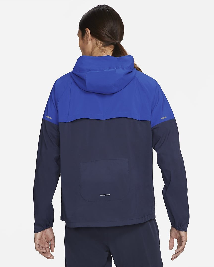 Nike Windrunner Men\'s Running Jacket Game Royal/Obsidian/Game Royal