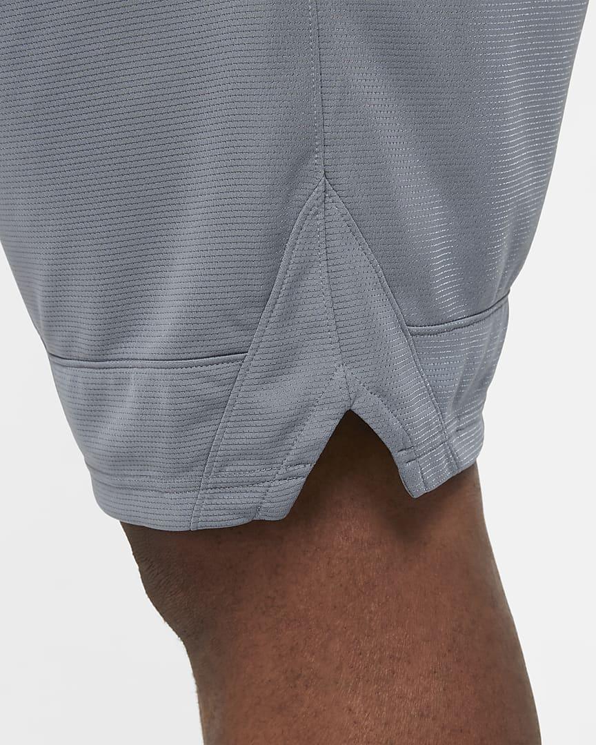 Nike Dri-FIT Icon Men\'s Basketball Shorts Cool Grey/Cool Grey/Black
