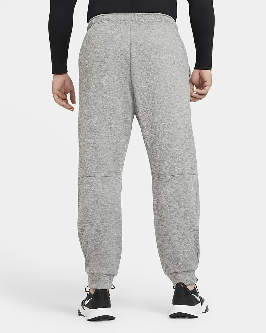 Nike Therma Men\'s Tapered Training Pants Dark Grey Heather/Black