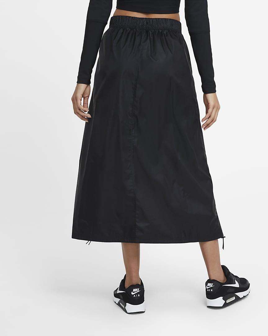 Nike Sportswear Tech Pack Women\'s Woven Skirt Black/Black