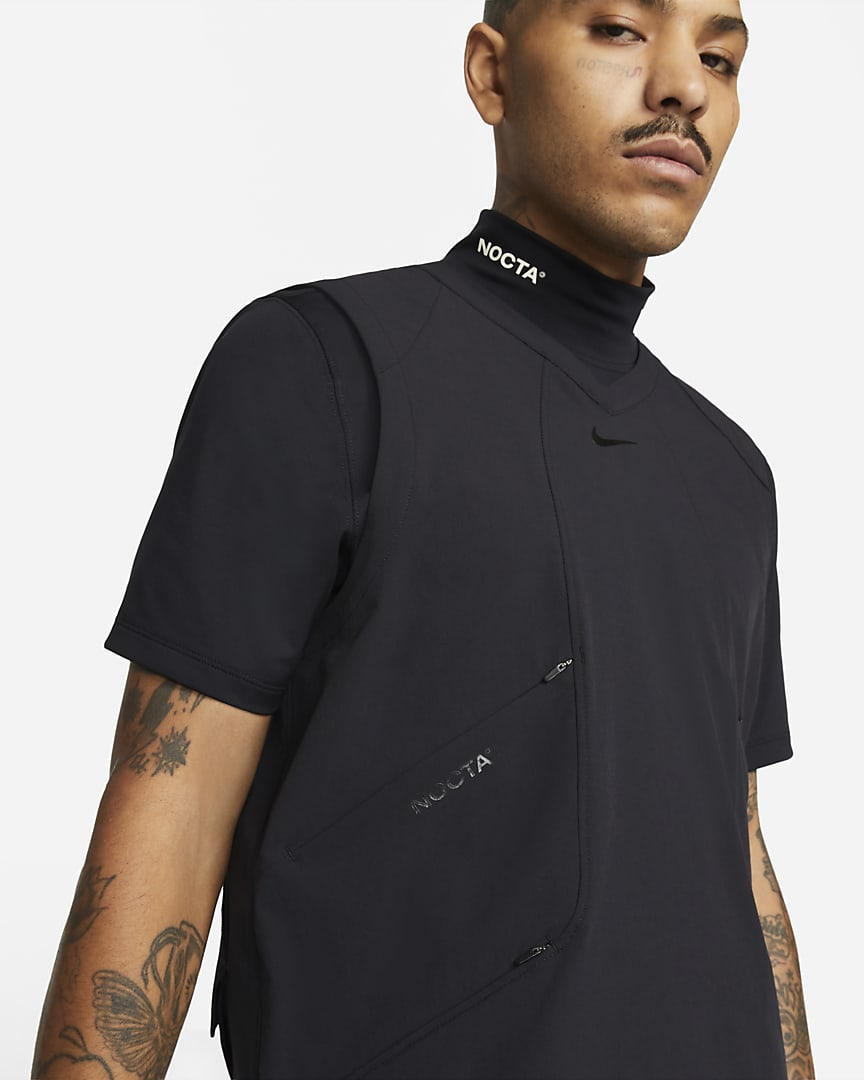NOCTA Golf Men\'s Woven Vest Black