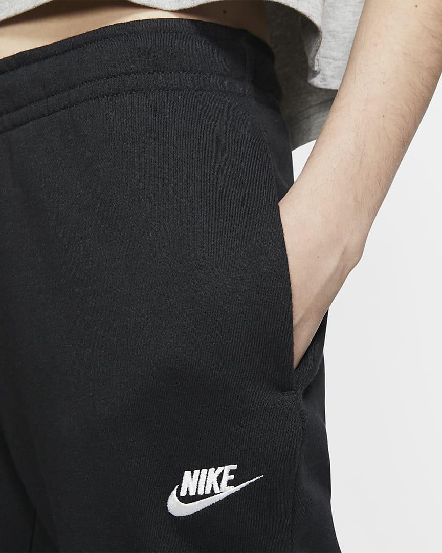 Nike Sportswear Essential Women\'s Fleece Pants Black/White