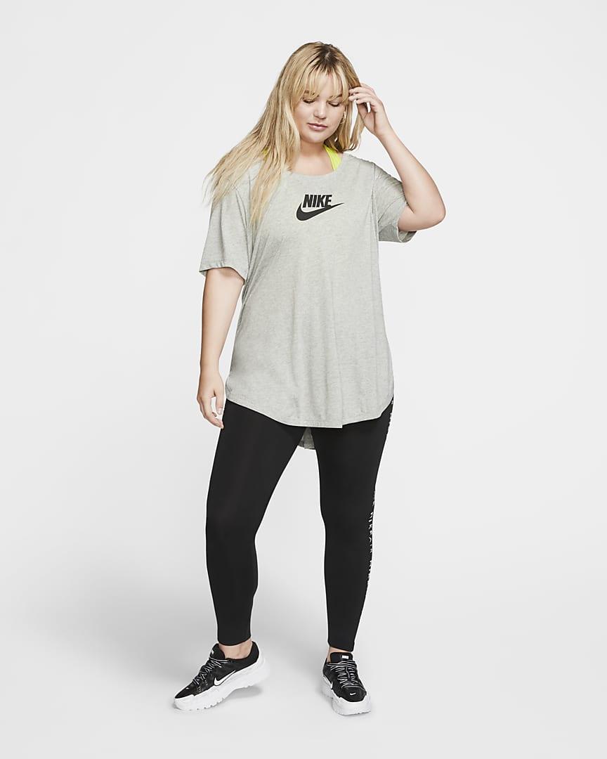 Nike Sportswear Essential Women\'s Tunic (Plus Size) Dark Grey Heather/Black