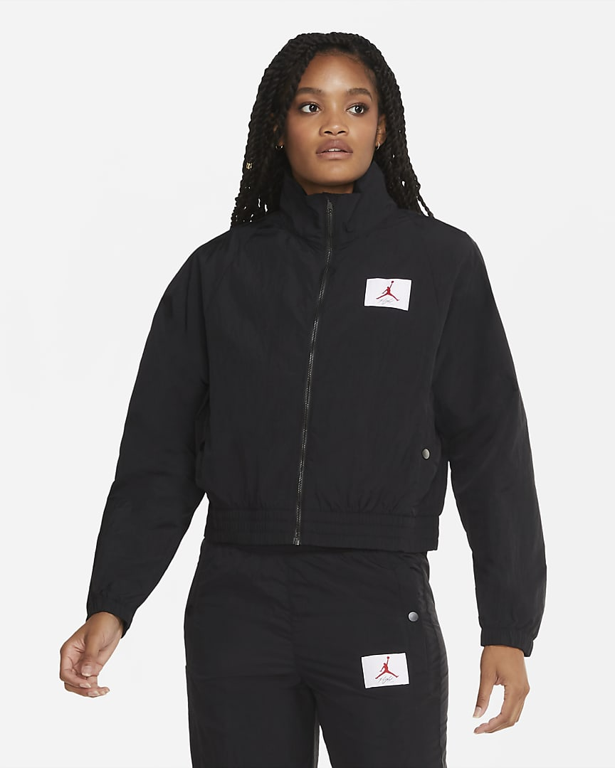Jordan Women\'s Woven Jacket Black/Black