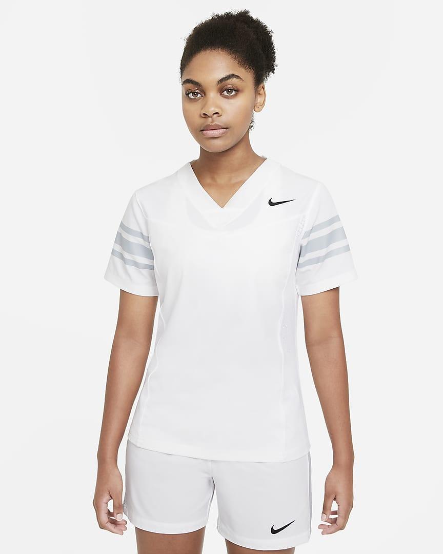 Nike Vapor Women\'s Flag Football Jersey (Stock) Team White/Team Blue Grey/Team Black