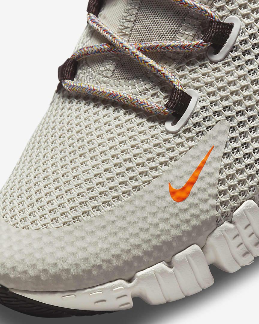 Nike Free Metcon 4 Training Shoes Light Bone/Summit White/Cyber Teal/Sport Spice