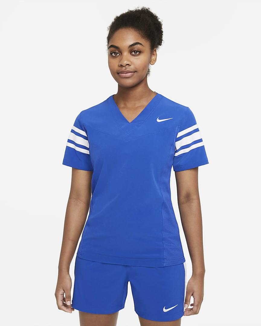 Nike Vapor Women\'s Flag Football Jersey (Stock) Team Royal/Team White/Team White