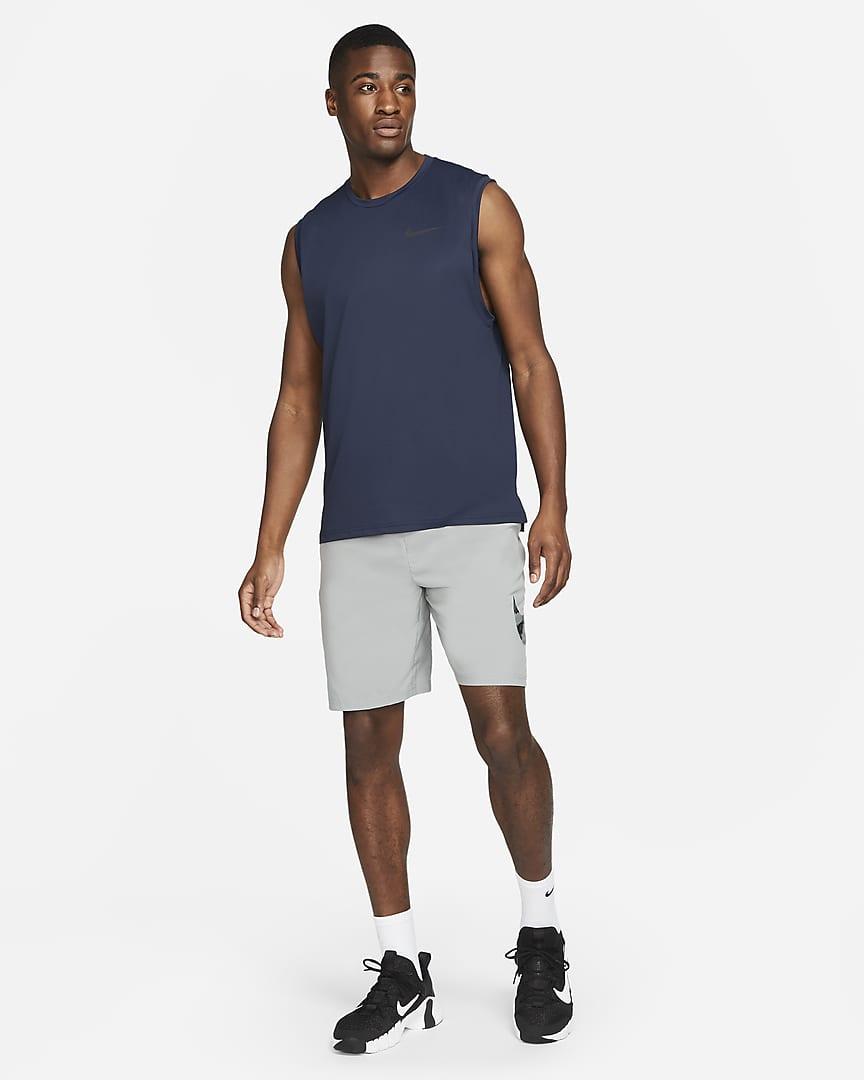 Nike Pro Dri-FIT Men\'s Tank Obsidian/Black