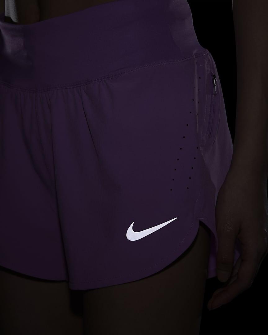 Nike Eclipse Women\'s Running Shorts Fuchsia Glow