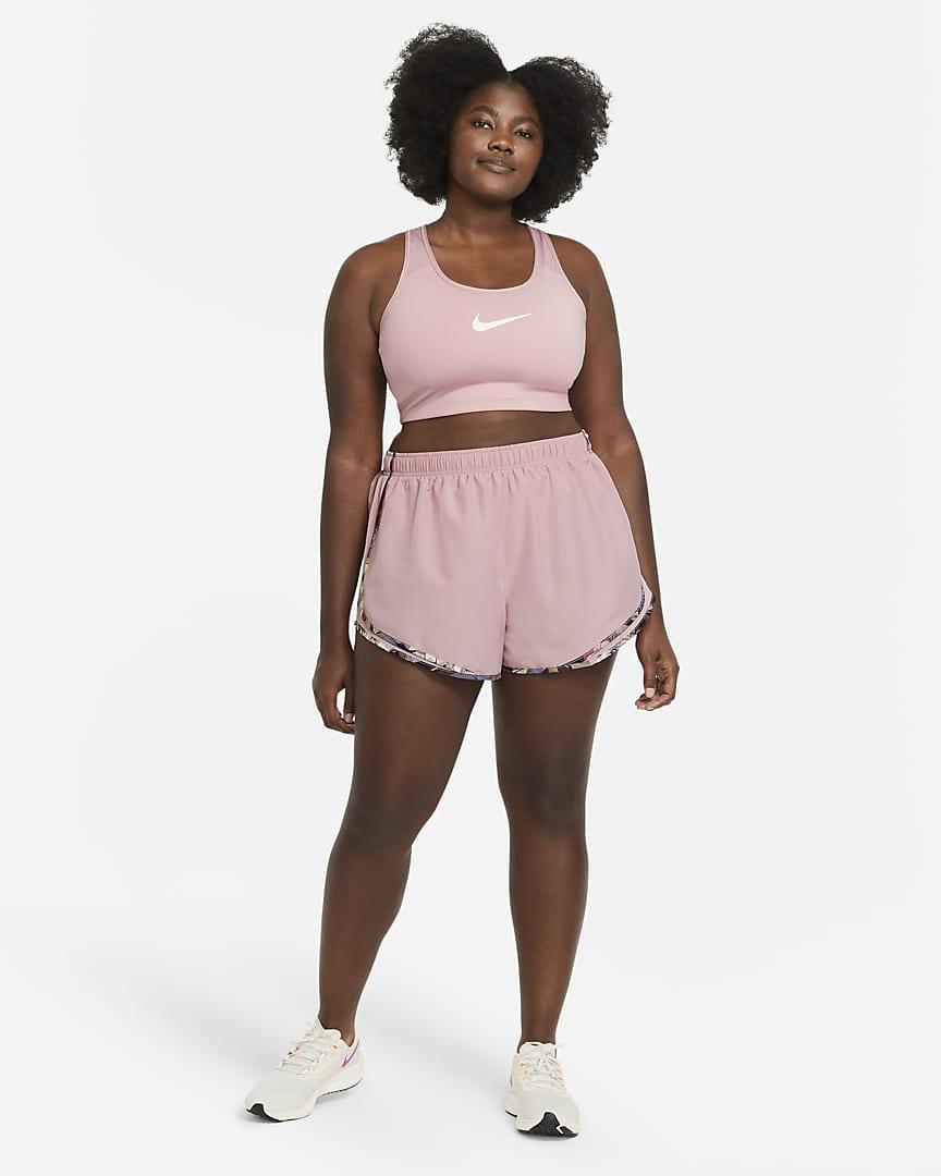 Nike Tempo Women\'s Running Shorts (Plus Size) Pink Glaze/Pink Glaze/Wolf Grey
