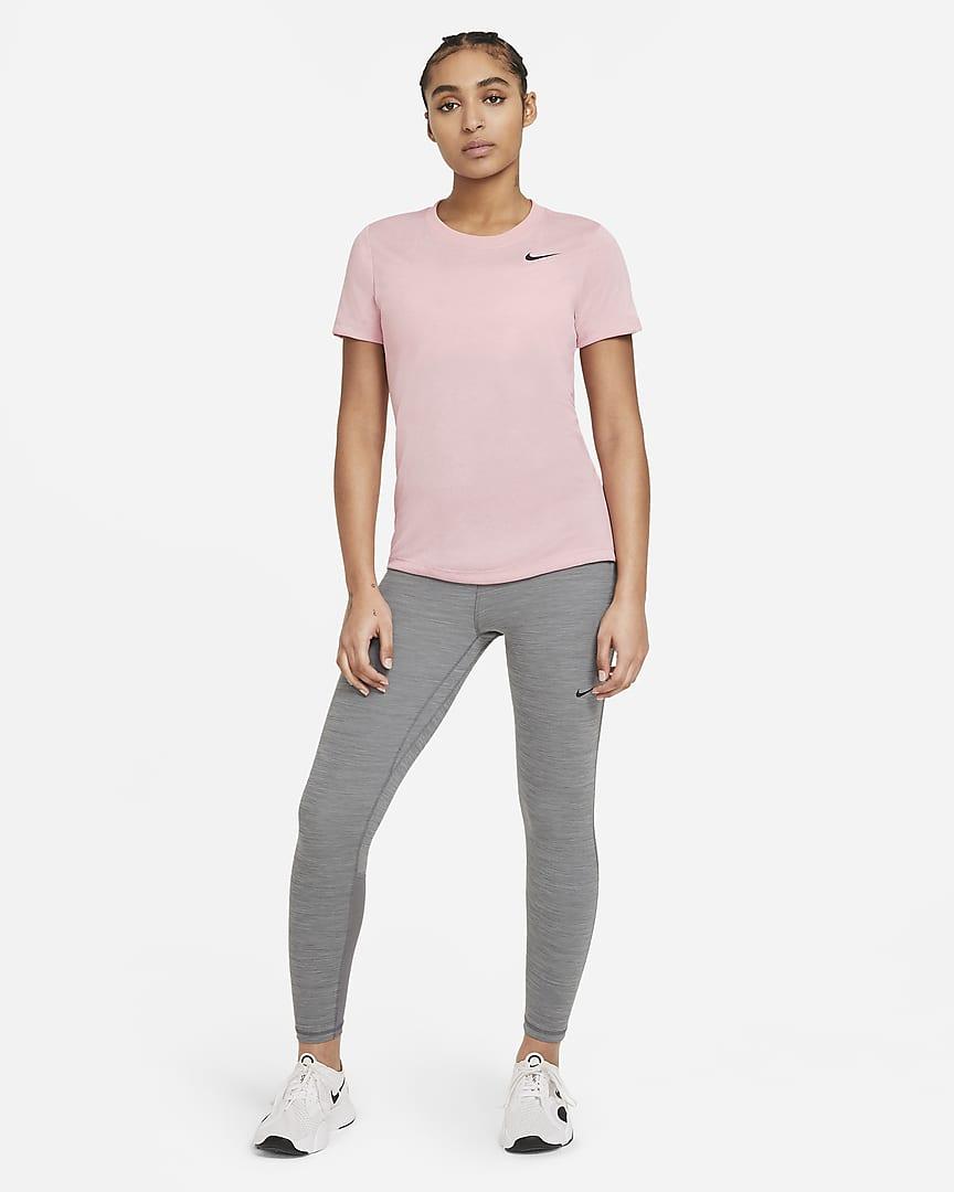 Nike Dri-FIT Legend Women\'s Training T-Shirt Pink Glaze/Light Violet