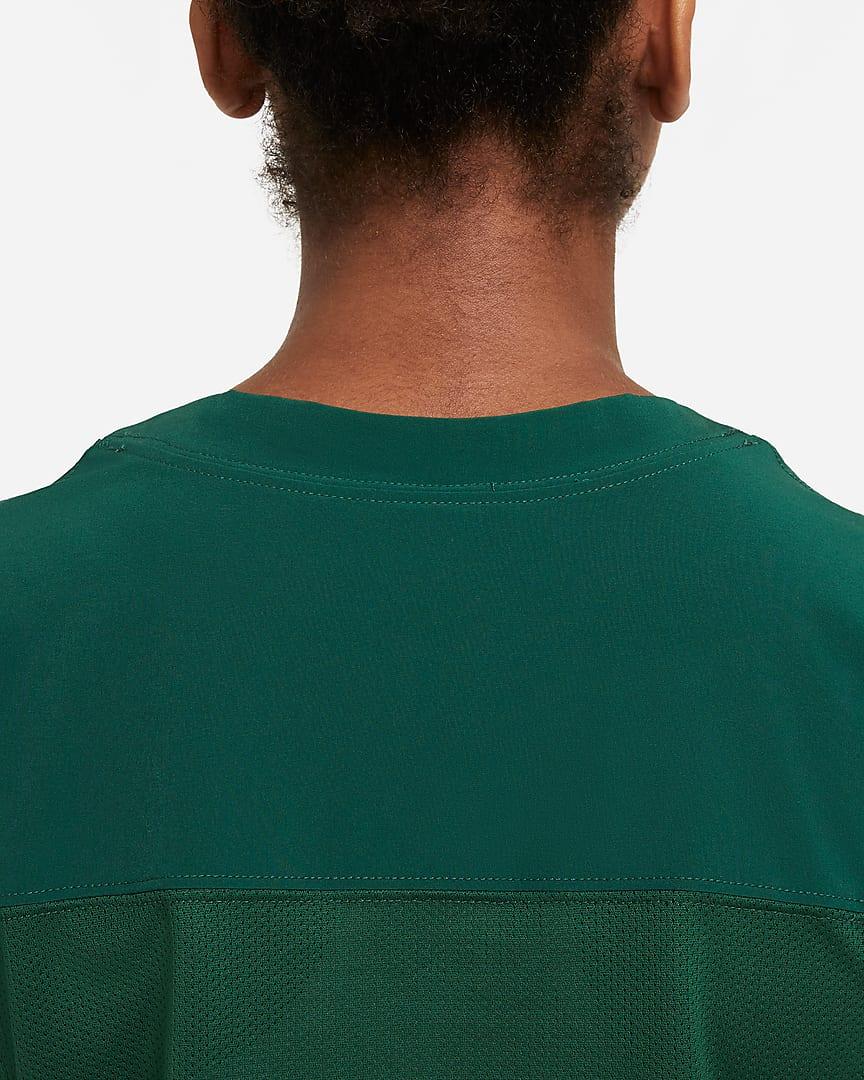 Nike Vapor Women\'s Flag Football Jersey (Stock) Team Dark Green/Team White/Team White