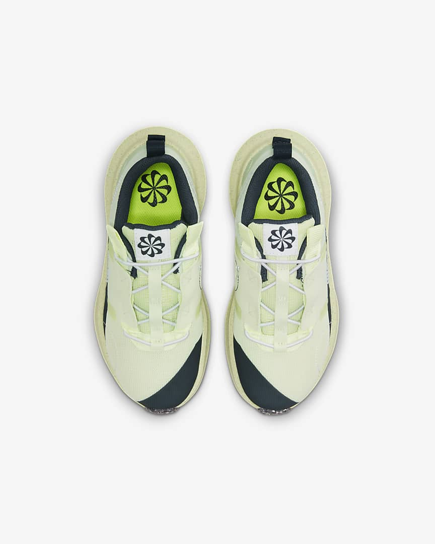 Nike Crater Impact Little Kids\' Shoes Lime Ice/Armory Navy/Light Lemon Twist/White