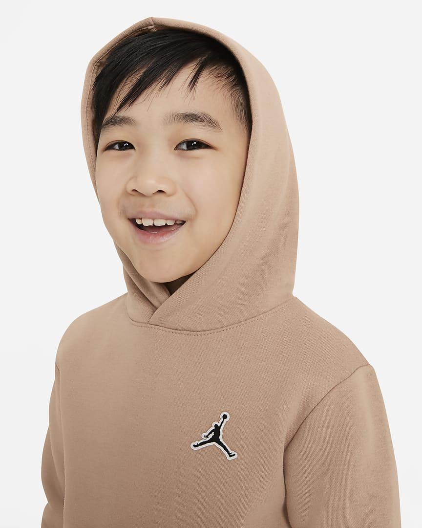 Jordan Little Kids\' Pullover Hoodie Hemp