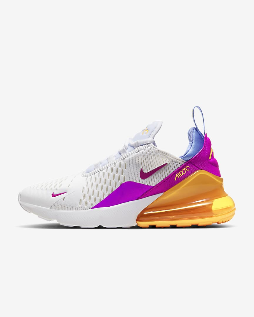 Women's Nike Air Max 270 'Laser Orange / Fire Pink' $75.97 ...