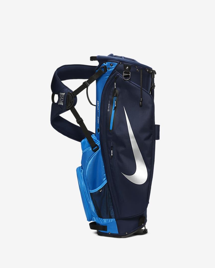 Nike Air Sport Golf Bag Blue/Chrome