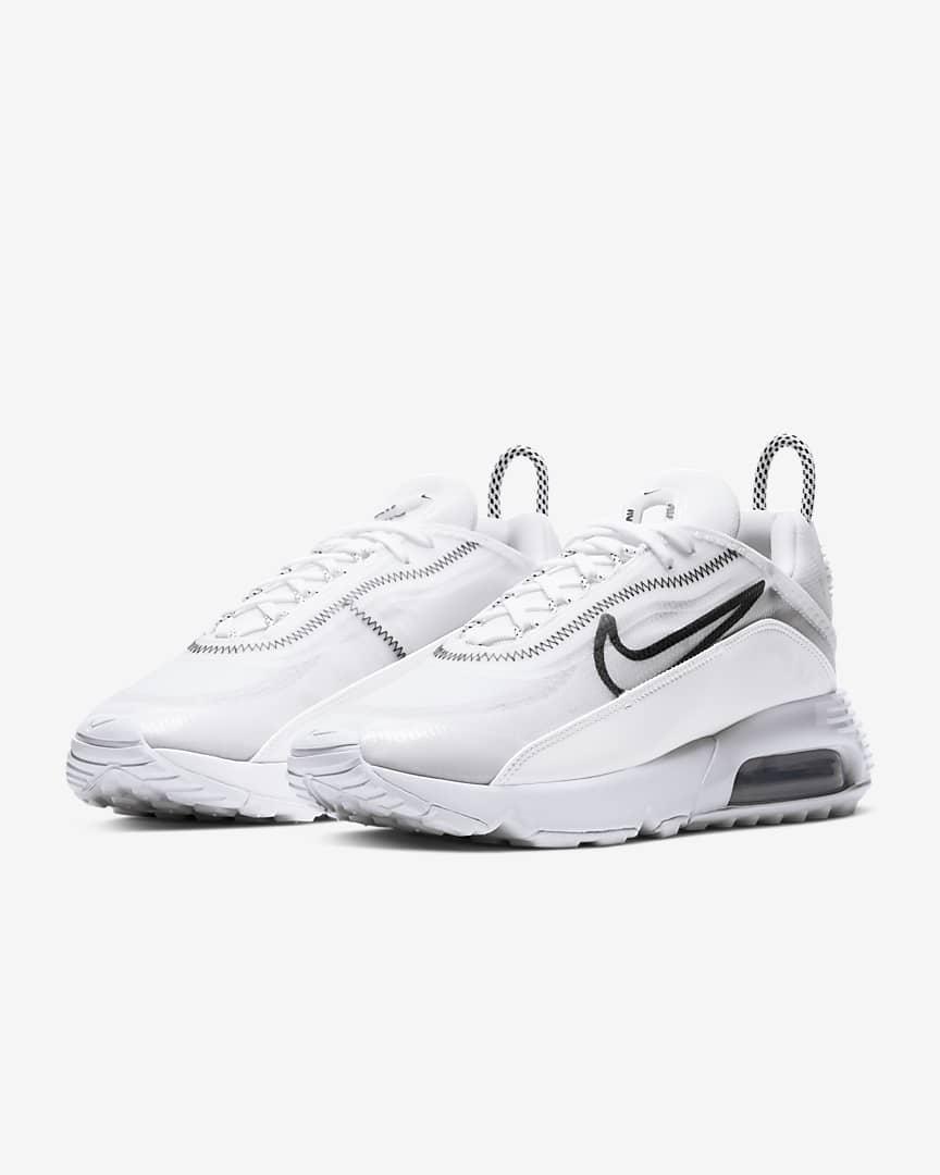 Nike Air Max 2090 Women\'s Shoes White/Wolf Grey/Black