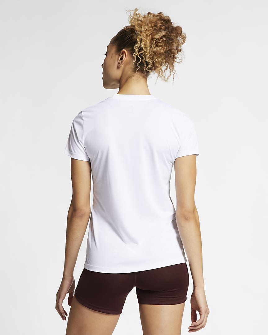 Nike Dri-FIT Legend Women\'s Training T-Shirt White/Black