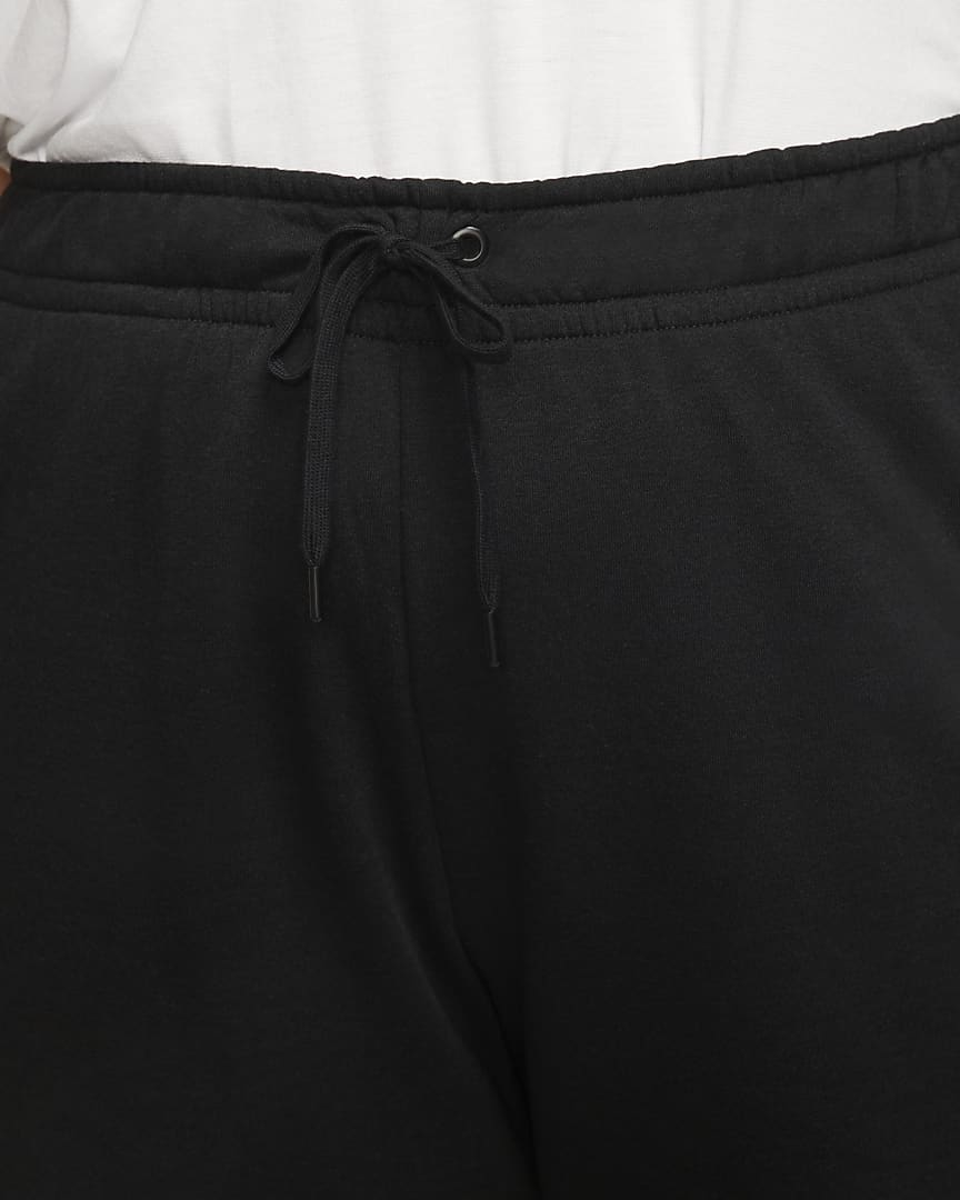 Nike Sportswear Club Fleece Women\'s Pants (Plus Size) Black/Black/White