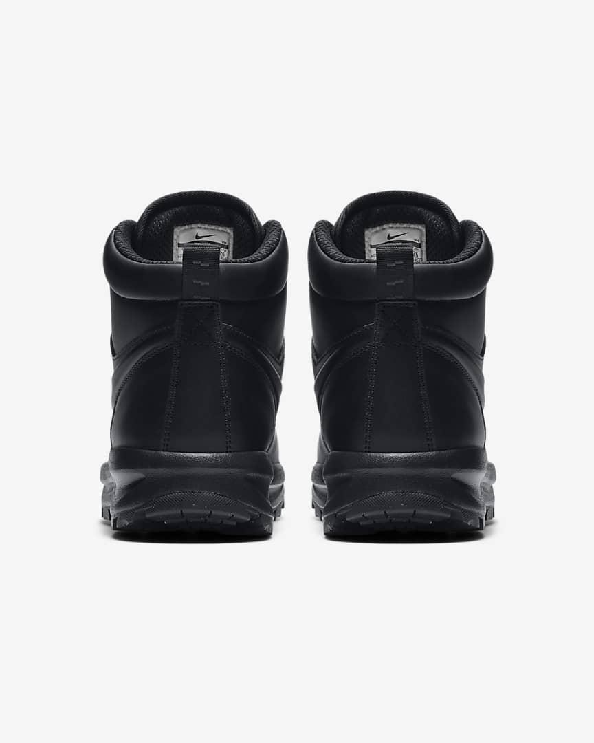 Nike Manoa Leather Men\'s Boots Black/Black/Black