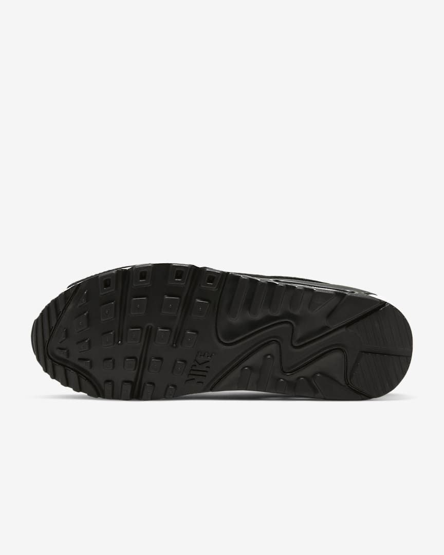 Nike Air Max 90 Women\'s Shoes Black/Black/White