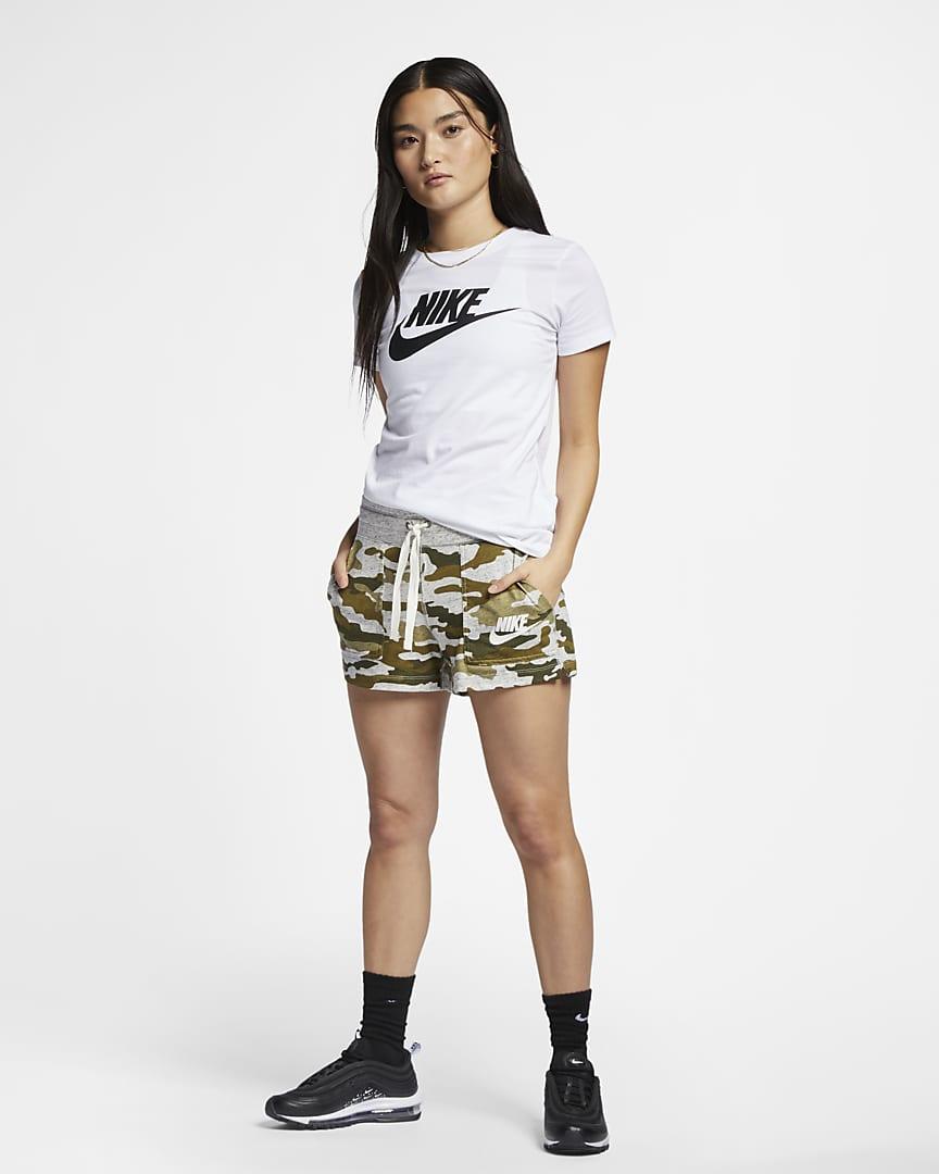Nike Sportswear Essential T-Shirt White/Black