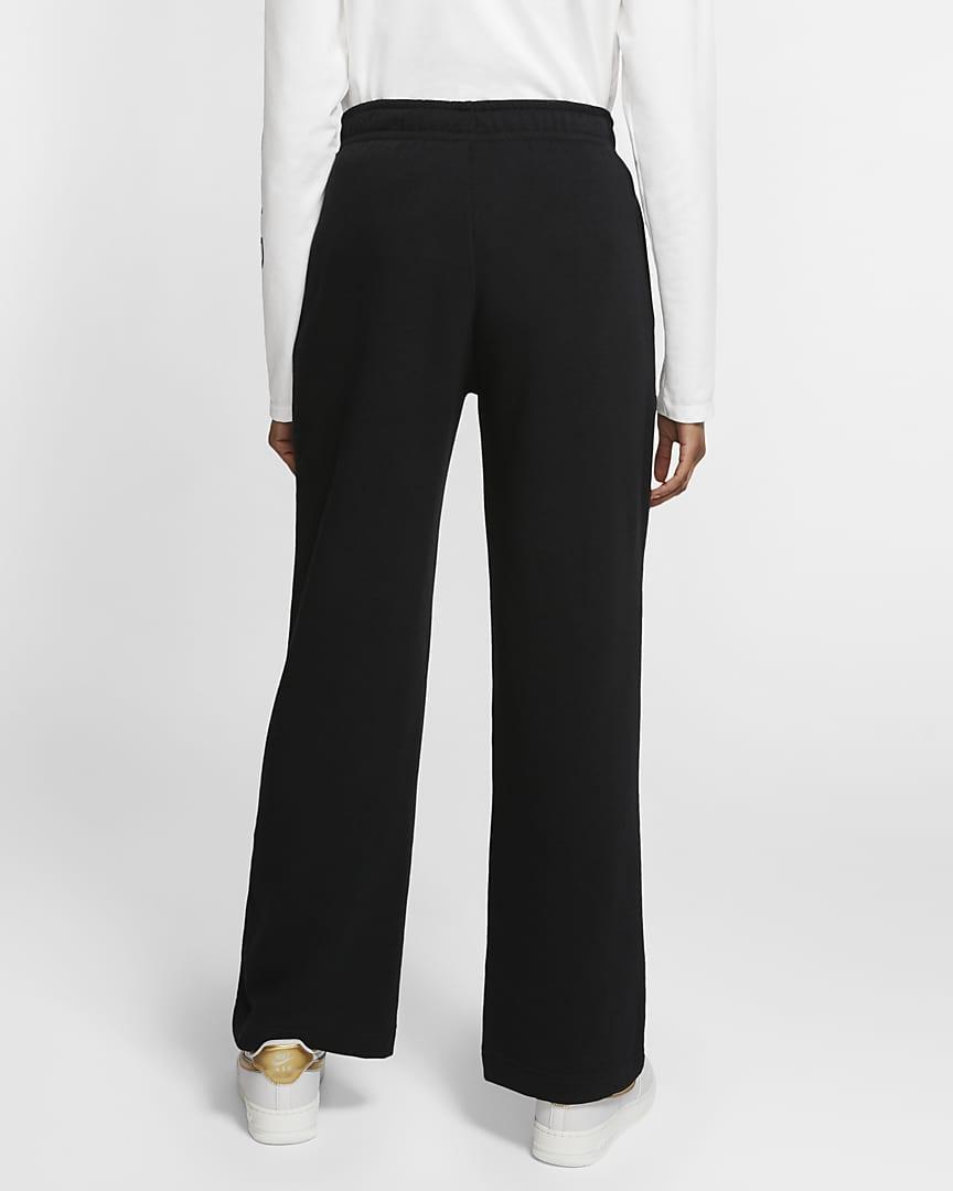 Nike Sportswear Club Fleece Women\'s Pants Black/Black/White