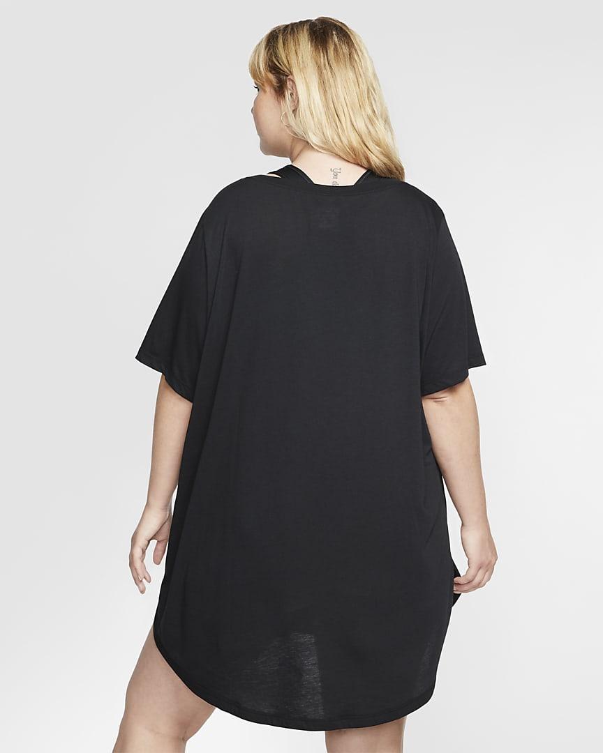 Nike Sportswear Essential Women\'s Tunic (Plus Size) Black/White