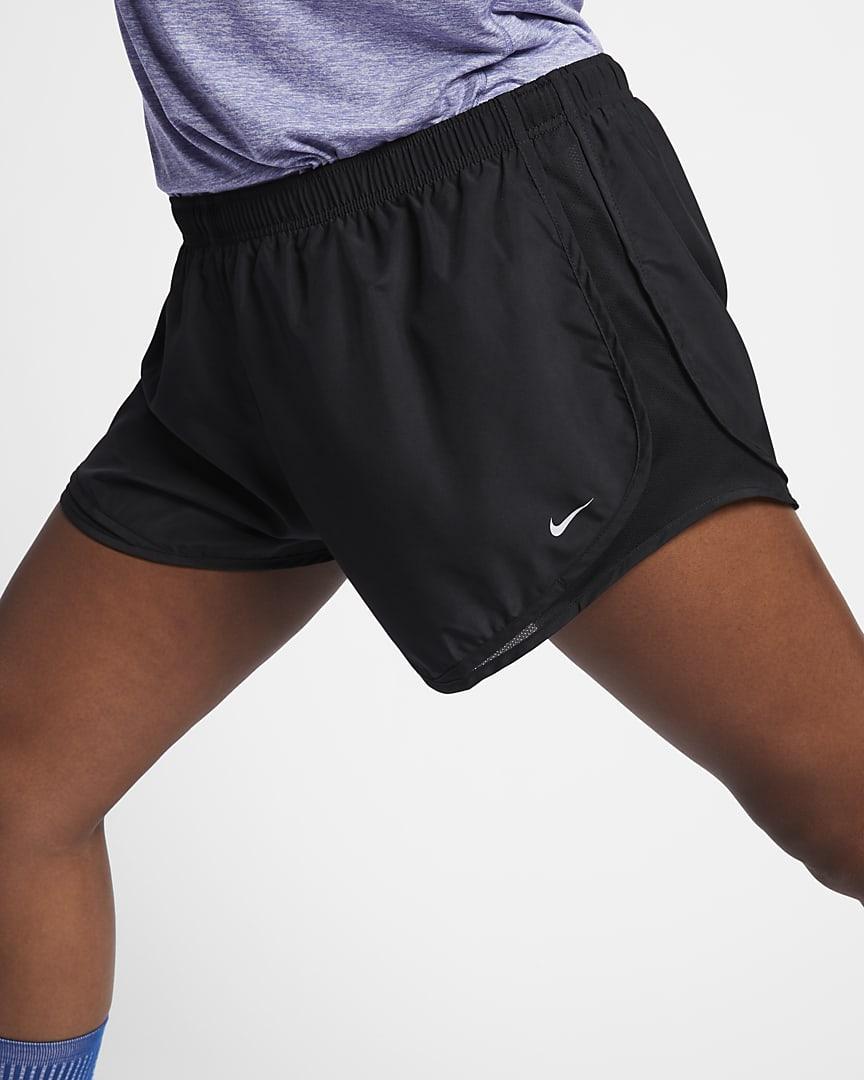 Nike Tempo Women\'s Running Shorts (Plus Size) Black/Black/Black/Wolf Grey