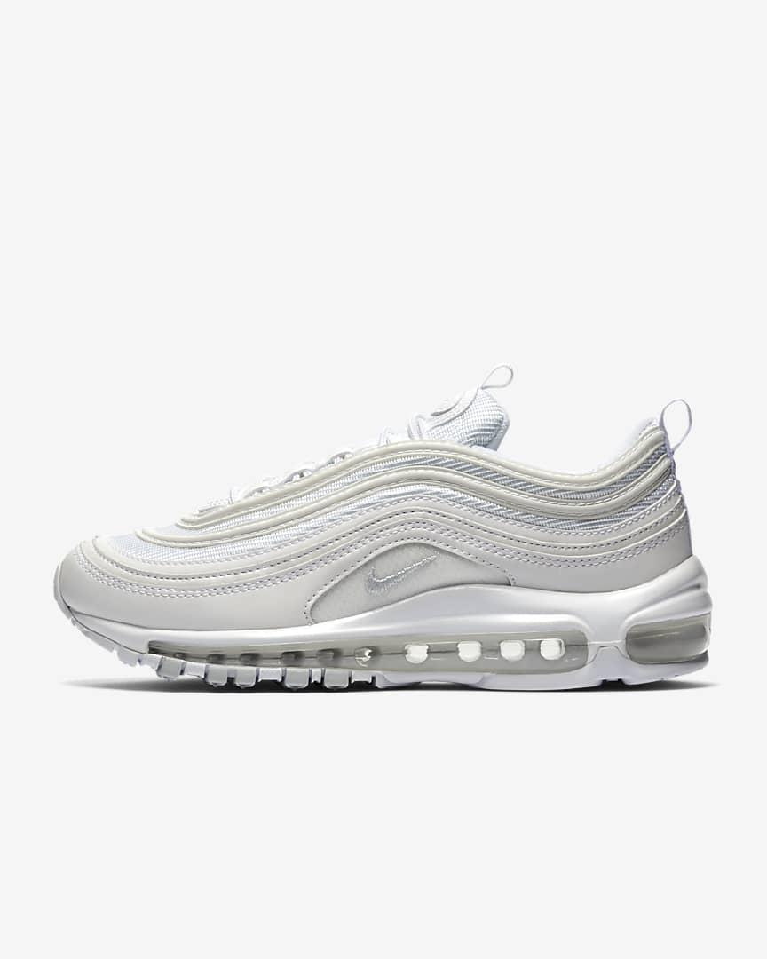 Nike Air Max 97 Women\'s Shoes White/Pure Platinum/White