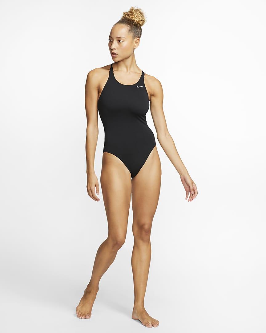 Nike Fastback Women\'s 1-Piece Swimsuit Black