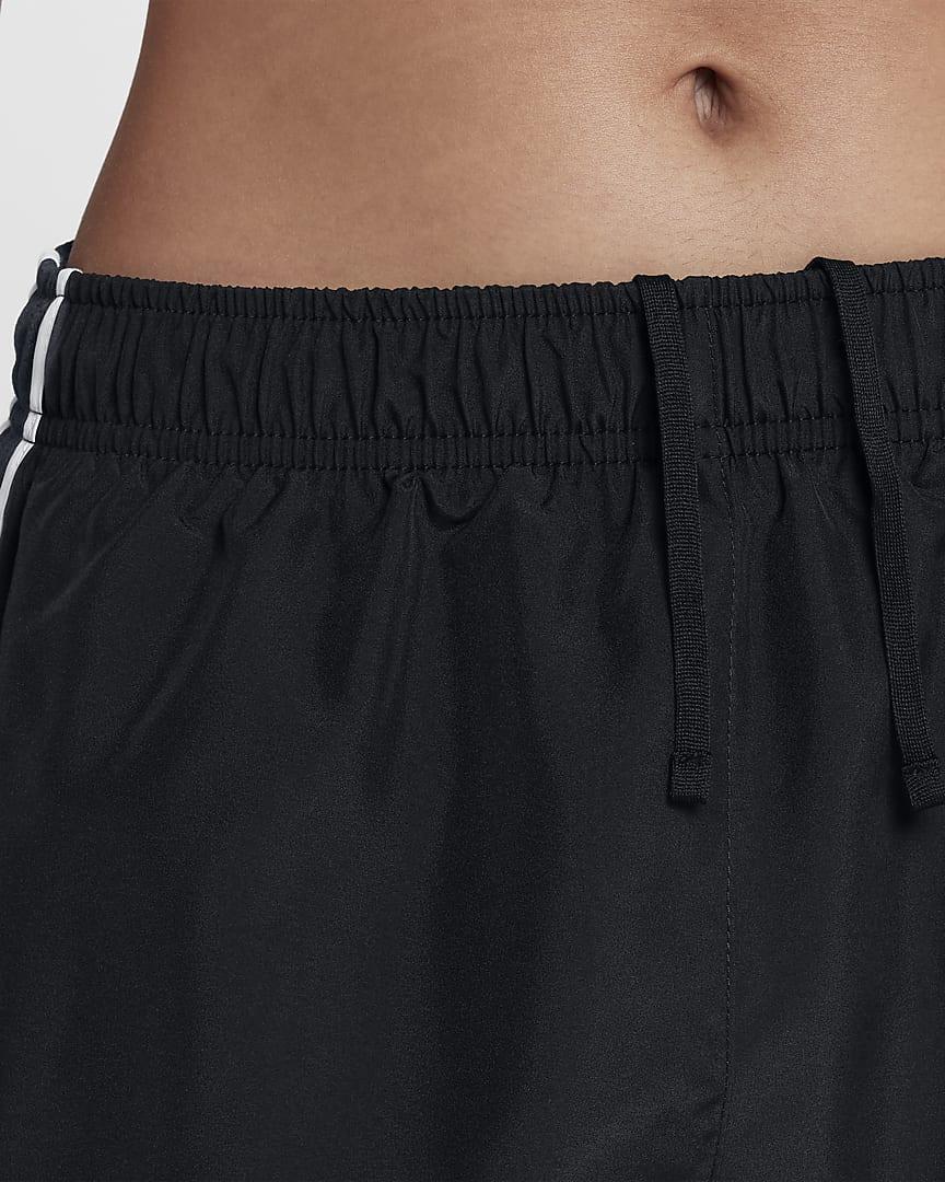 Nike Tempo Women\'s Running Shorts Black/Black/White/Wolf Grey
