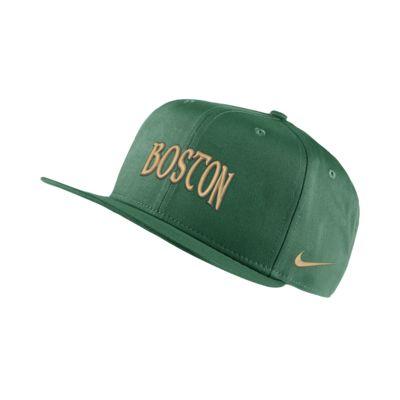 Boston Celtics City Edition Nike Pro NBA verstellbare Cap