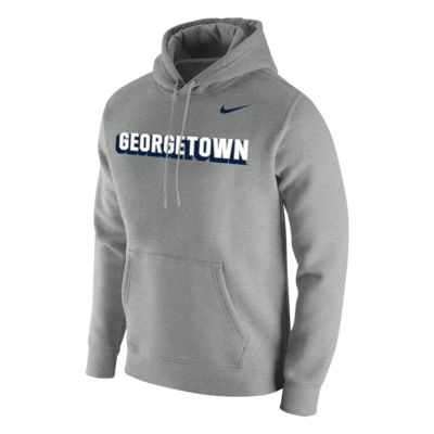 Nike College Club Fleece (Georgetown) Men's Hoodie
