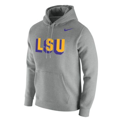 Nike College Club Fleece (LSU) Men's Hoodie