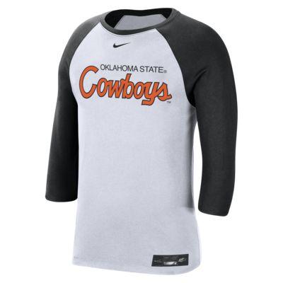Nike College Dri-FIT (Oklahoma State) Men's 3/4-Sleeve T-Shirt