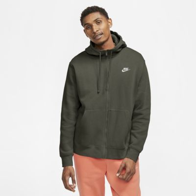 Nike Sportswear Club Fleece-hættetrøje med lynlås til mænd