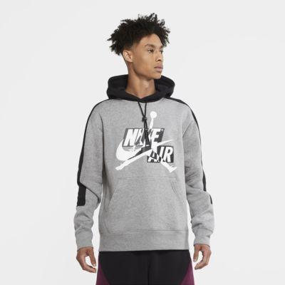 Felpa pullover in fleece con cappuccio Jordan Jumpman Classics - Uomo