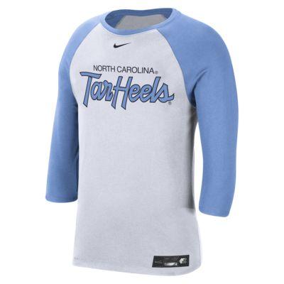 Nike College Dri-FIT (UNC) Men's 3/4-Sleeve T-Shirt