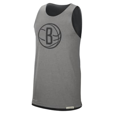 Brooklyn Nets Standard Issue Men's Nike NBA Reversible Tank