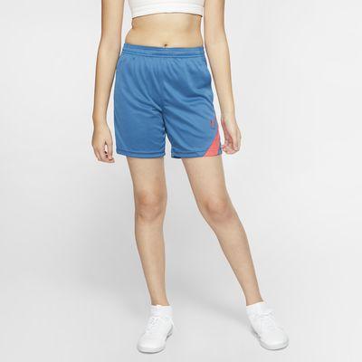 กางเกงฟุตบอลขาสั้นเด็กโต Nike Dri-FIT Academy Pro