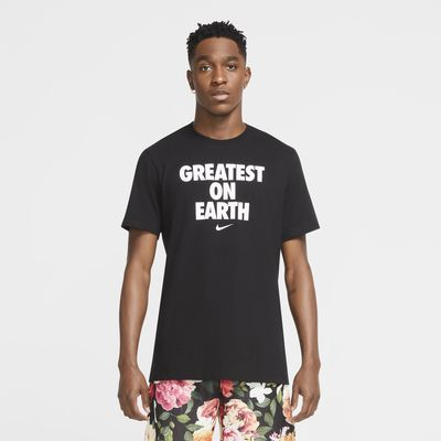 Tee shirt de basketball Nike Dri FIT « Greatest On Earth » pour Homme
