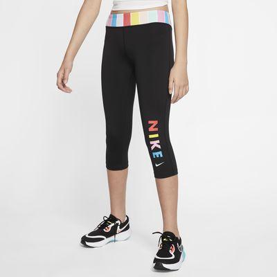 Nike One 大童(女孩)训练紧身裤