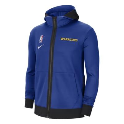 Sweat à capuche NBA Nike Therma Flex Golden State Warriors Showtime pour Homme