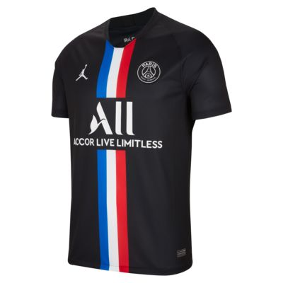 Jordan x Paris Saint-Germain 2019/20 Stadium Fourth Voetbalshirt voor heren