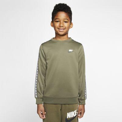 Nike Sportswear-crewtrøje til store børn
