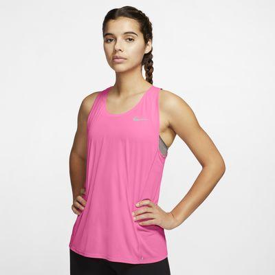 Nike Camiseta de tirantes de running - Mujer