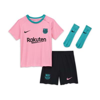 Divisa da calcio FC Barcelona 2020/21 per neonati/bimbi piccoli - Terza