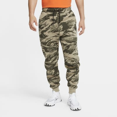 Nike Tech Fleece Men's Printed Camo Joggers