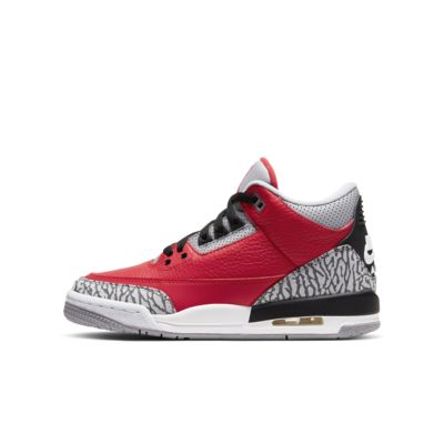 รองเท้าเด็กโต Air Jordan 3 Retro SE